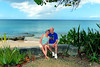Taken in front of our condo, just north of Frederiksted, our home for three weeks.